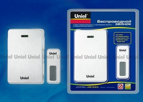 Uniel Звонок UDB-005W-R1T1-WH