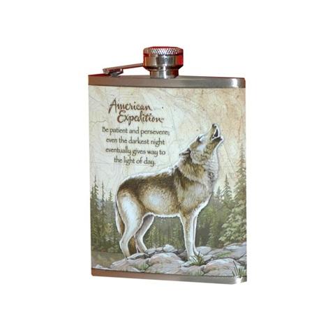 Фляжка Волк А01-1 210мл