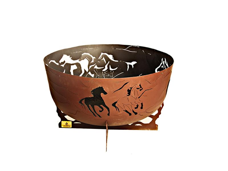 Кострища и очаги Чаша для костра Firecup Лошади 1.png