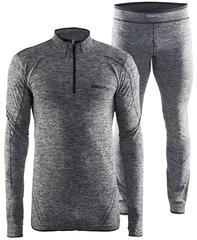 Комплект термобелья Craft Active Comfort Grey Melange мужской