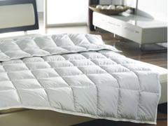 Одеяло пуховое очень легкое 180х200 Kauffmann Пух Гаги в хлопке