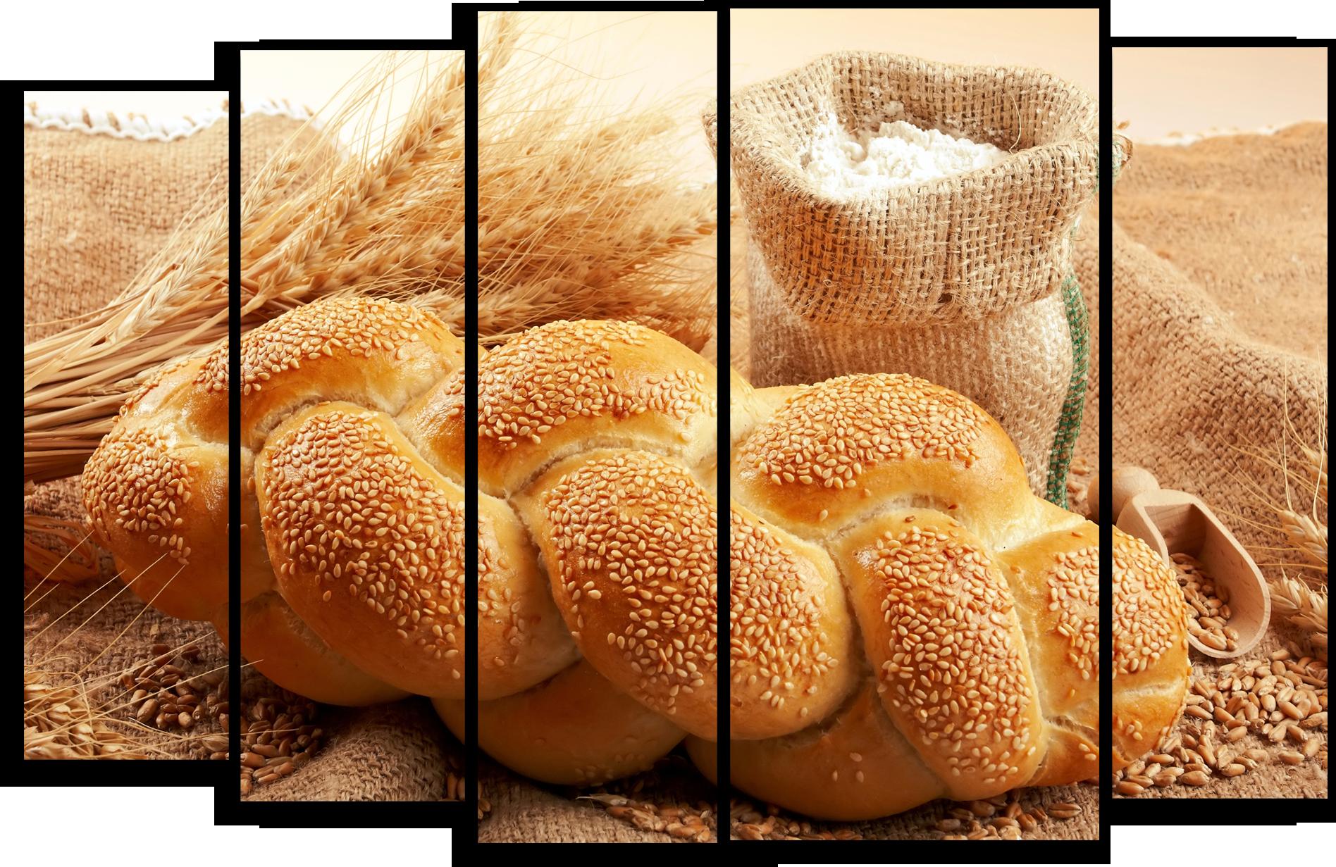 "Еда Модульная картина ""Свежий хлеб"" М459.png"