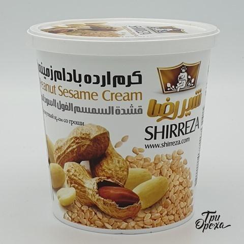 Кунжутная паста с Арахисом, Тахини, Shirreza, 400 гр