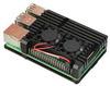 Корпус для Raspberry Pi 4 с вентиляторами (LT-4B02 / алюминий / чёрный)