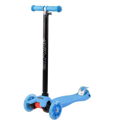 Самокат макси голубой City-Ride CR5LB-P