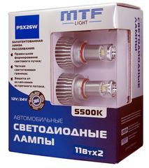 Светодиодные лампы MTF Light PSX26W 5500K