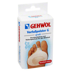 Защитная гель-подушечка под пальцы и стопу G Vorfußpolster G
