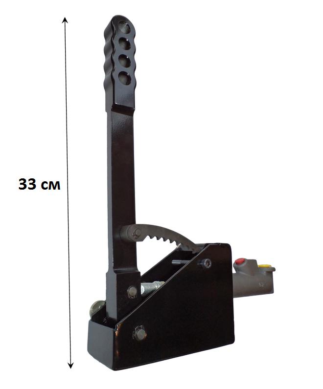 Вертикальный Гидравлический ручник с фиксатором