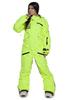 Женский сноубордический комбинезон Cool Zone Fox 3427 салатовый | Интернет-магазин Five-sport.ru