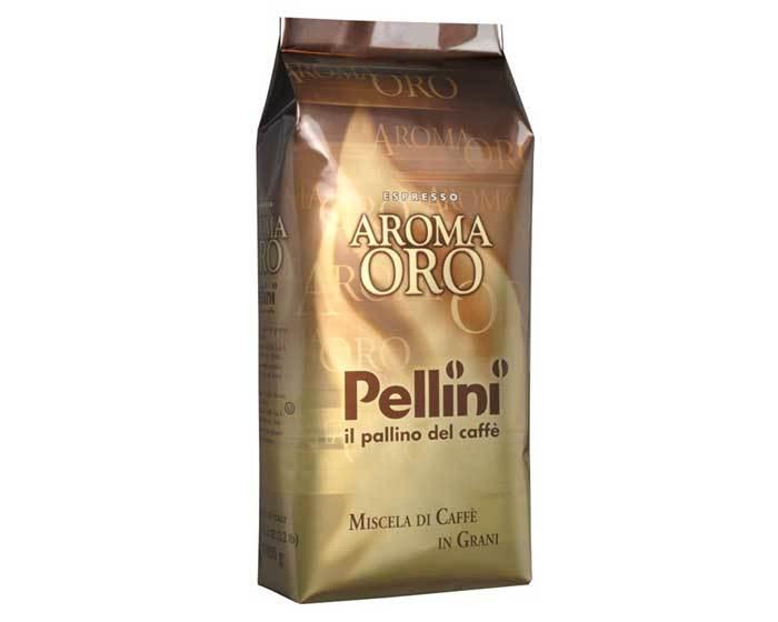 Кофе в зернах Pellini Aroma Oro Gusto Intensa, 1 кг (Пеллини)