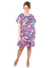 B1227-2-3 платье женское, розовое