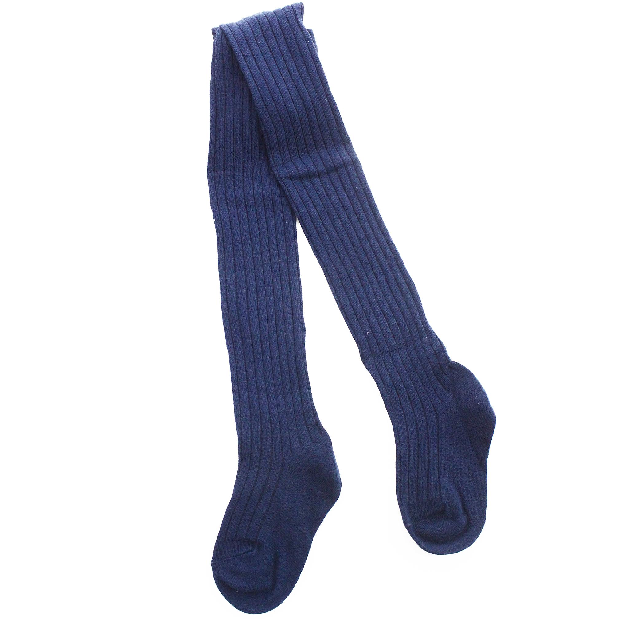 Колготки Рельефные Синие Рост 115 см. до 125 см.
