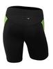 Детские обтягивающие шорты для бега NordSki JR Premium (нордски) черные фото