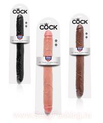 "Двойной фаллоимитатор King Cock 16"", THICK DOUBLE DILDO (цвета в ассортименте)(4,8 х 42,5 см)"