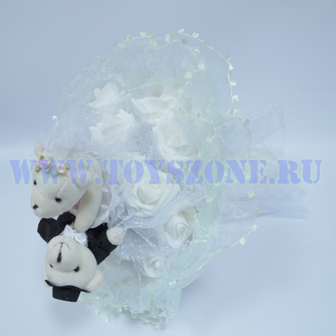 Букет свадебный — Белый