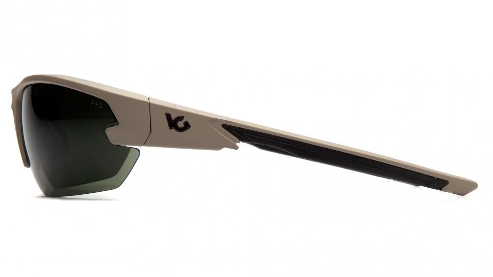 Очки баллистические стрелковые Pyramex Semtex 2.0 VGST1422T Anti-fog темно-зеленые 10%