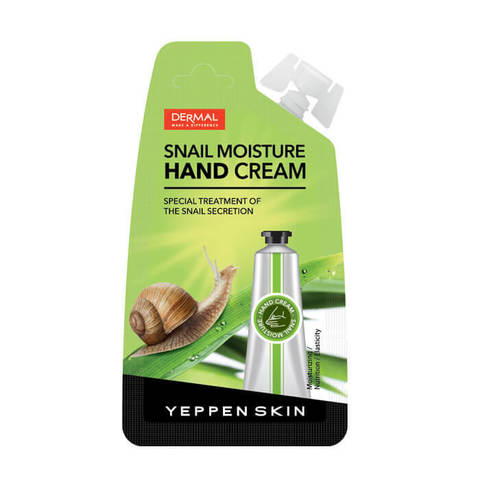 Yeppen Skin Увлажняющий крем для рук с муцином улитки Snail Moisture 20г