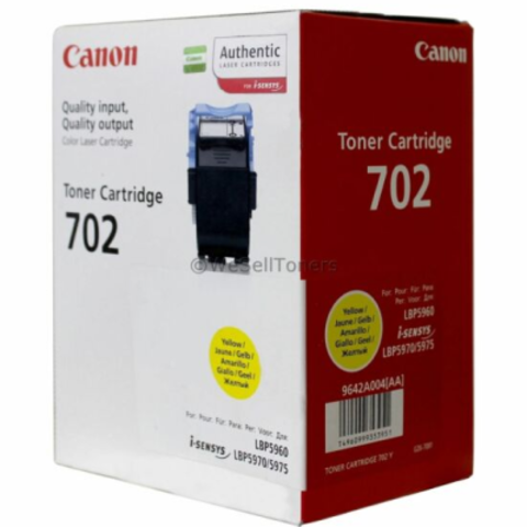 Cartridge 702 Yellow Toner