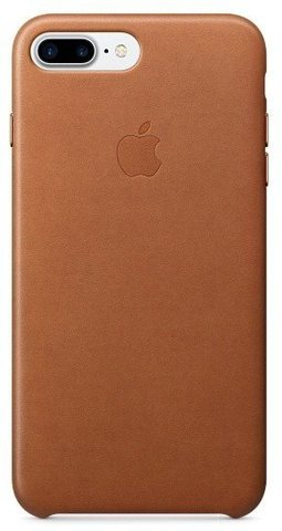 Чехол iPhone 7+/8+ Leather Case /saddle brown/