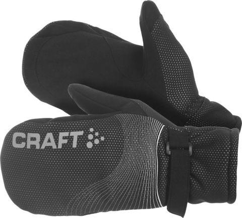 Варежки Craft Power черные Распродажа