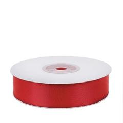 Лента атласная (красный) 25мм*25м