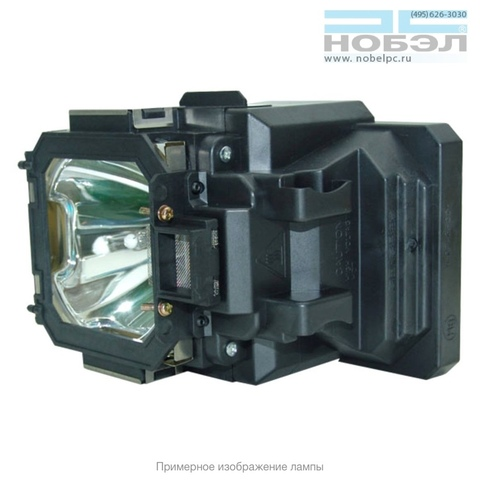 Лампа в корпусе для проектора Lamp SANYO PLC-XT20, PLC-XT20L, PLC-XT21, PLC-XT25 (POA-LMP105) собрана в ламповый модуль