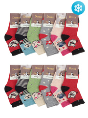 3032 носки детские (12 шт.), цветные
