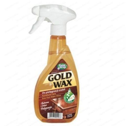 Спрей для чистки мебели Gold Wax 400 мл