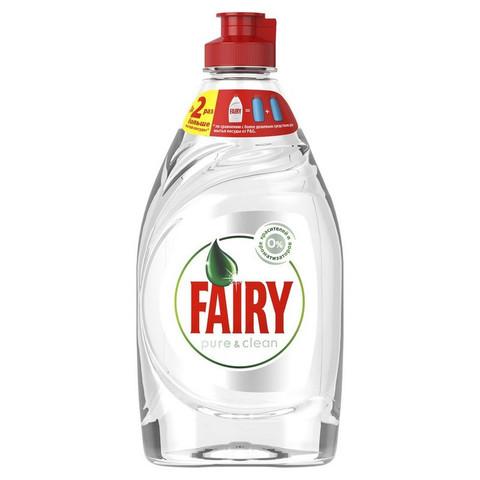 Средство для мытья посуды Fairy Pure & Clean 450мл без отдушки