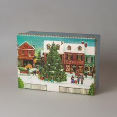 Коробка рождественская елка средняя, 818992-2