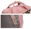 Рюкзак Nikki Macaroon Светло-Серый + Красный