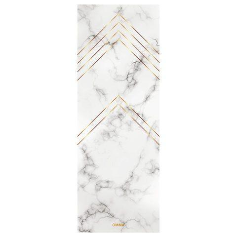 Коврик для йоги Marble 173*61*3мм из микрофибры и каучука