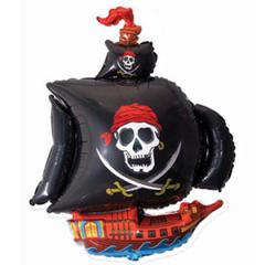 F Пиратский корабль (черный), 41
