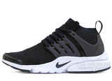 Кроссовки Мужские Nike Air Presto Ultra Flyknit Black White