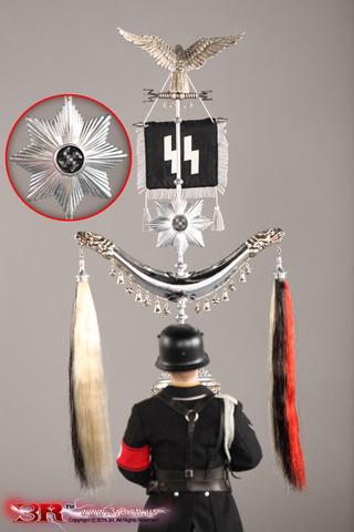 Музыкальный корпус СС фигурка 1/6 Шелленбаум Энди — Musikkorps der SS Schellenbaum Andy 1/6 Figure