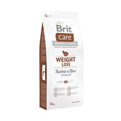 Brit NEW Care Weight Loss для собак, склонных к полноте, кролик с рисом
