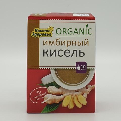 Кисель овсяно-льняной Имбирный КОМПАС ЗДОРОВЬЯ, 150 гр
