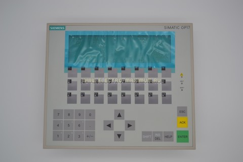 Панель оператора SIEMENS SIMATIC OP17/PP 6AV3 617-1JC00-0AX1