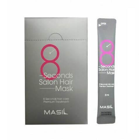Маска-Филлер для Волос с Керамидами в Миниатюре MASIL 8 Seconds Salon Hair Mask