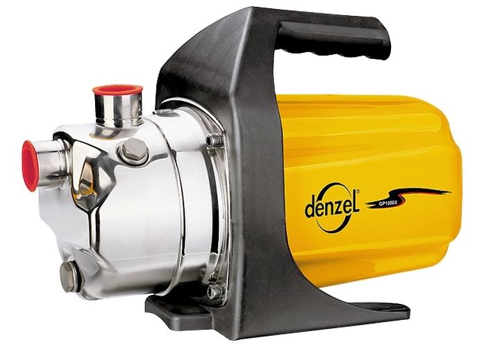 Садовый поверхностный насос GP600 600 Вт, 3000 л/ч, подъем 35 м, пластик Denzel 97201