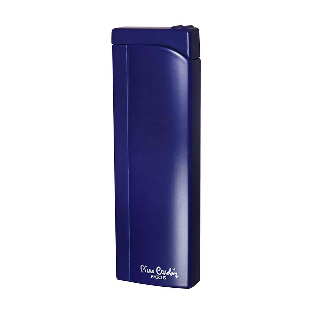 Зажигалка Pierre Cardin кремниевая газовая пьезо, цвет синий, 2,6x1,2x 8см