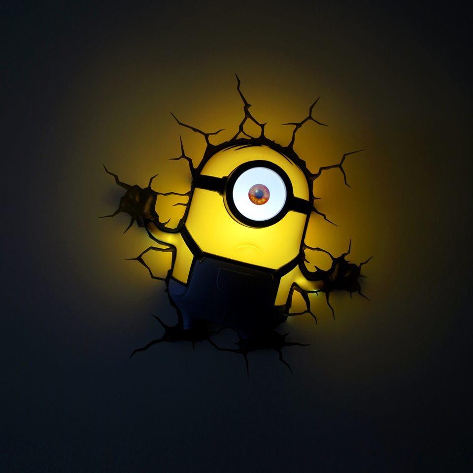 Миньон Стюарт 3D-светильник Гадкий Я