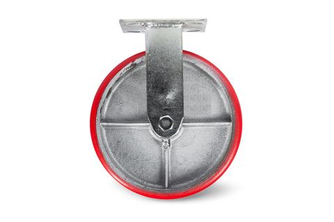 Колесо большегрузное неповоротн. PU (FCp 54) 125мм, шт
