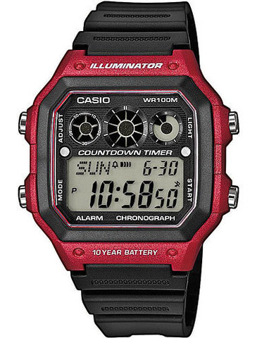 Купить Наручные часы Casio AE-1300WH-4A по доступной цене