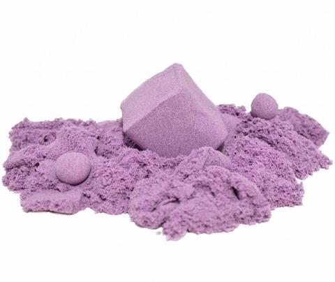 ZEPHYR (Зефир) - Скромная Осьминожка, кинетический пластилин сиреневый 300 гр