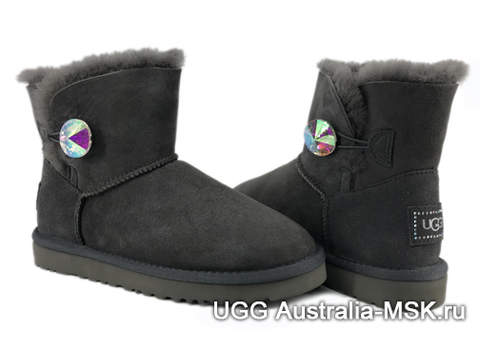 UGG Bailey Bling New Mini Grey