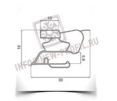 Уплотнитель 83*57 см для холодильника Индезит BH180 (морозильная камера) Профиль 022