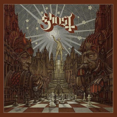 Ghost / Popestar EP (CD)