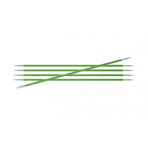 Спицы KnitPro Zing чулочные 3,5 мм/20 см 47037