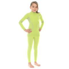 Комплект термобелья детский Brubeck Thermo салатовый (LS11710-LE11000) для девочек